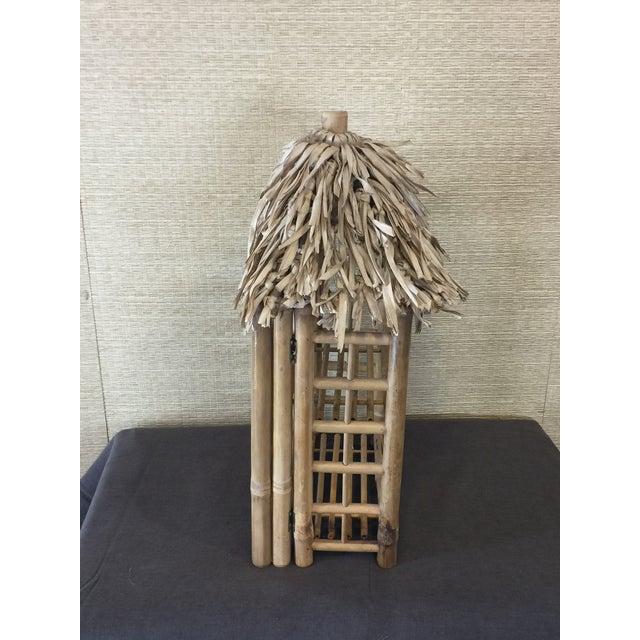 Bamboo Tiki Display Shelves - Image 5 of 9