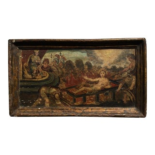 Incredible Early Italian Allegorical Painting - 17th C. For Sale