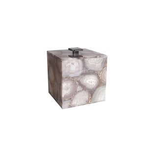 Ice Bucket In Natural Agate For Sale