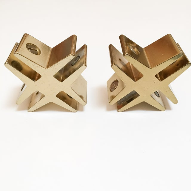 Brass Hashtags with Screw Detail - Pair - Image 5 of 9