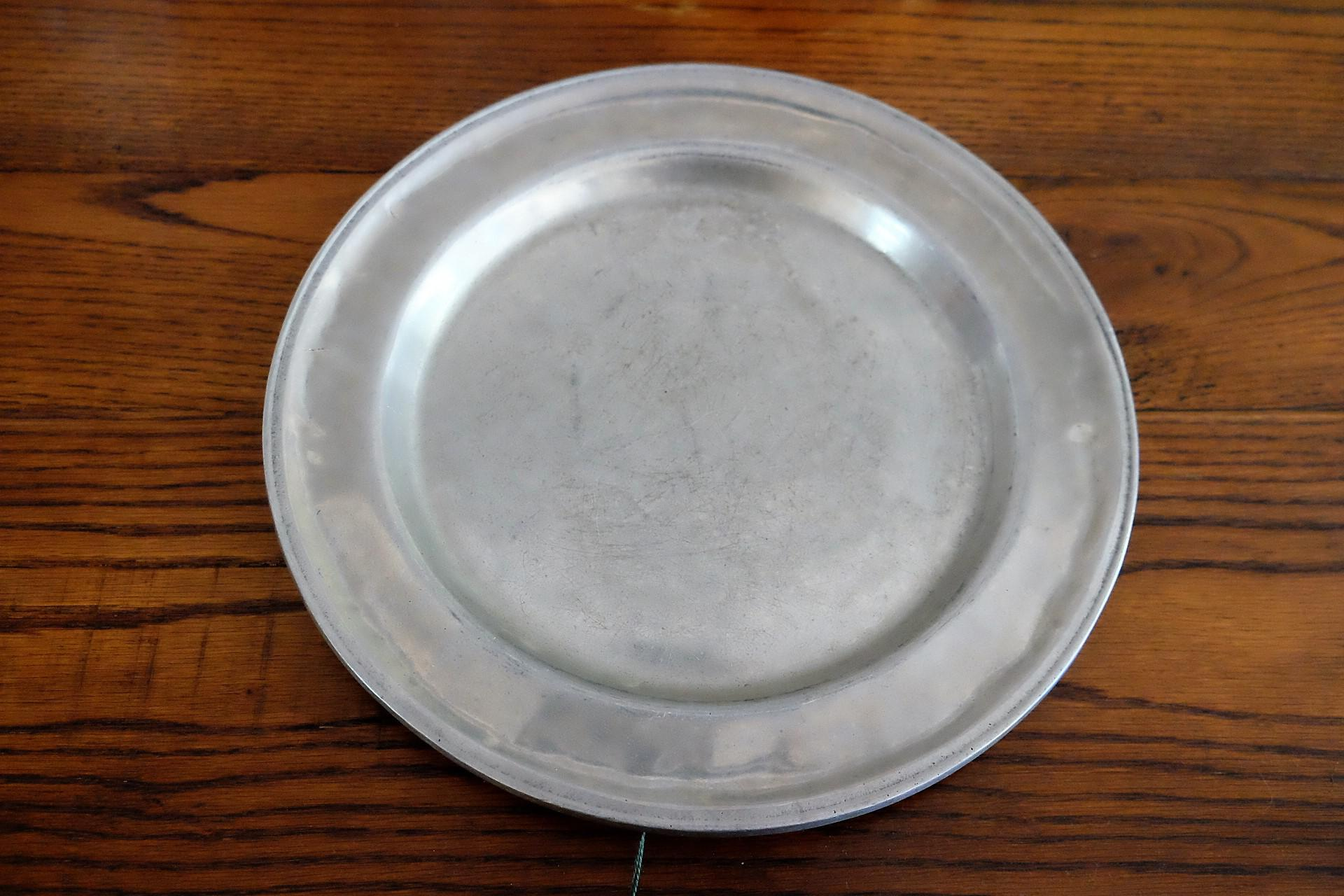Wilton Armetale Pewter Dinner Plate - Image 2 of 5  sc 1 st  Chairish & Wilton Armetale Pewter Dinner Plate | Chairish