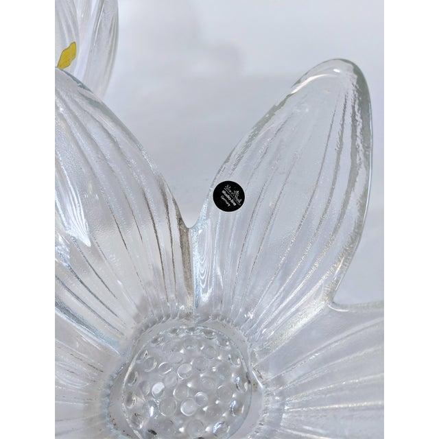 Rosenthal Studio Line Bleikristall German Glass Flower Petal Bowls - Set of 10 For Sale - Image 11 of 13