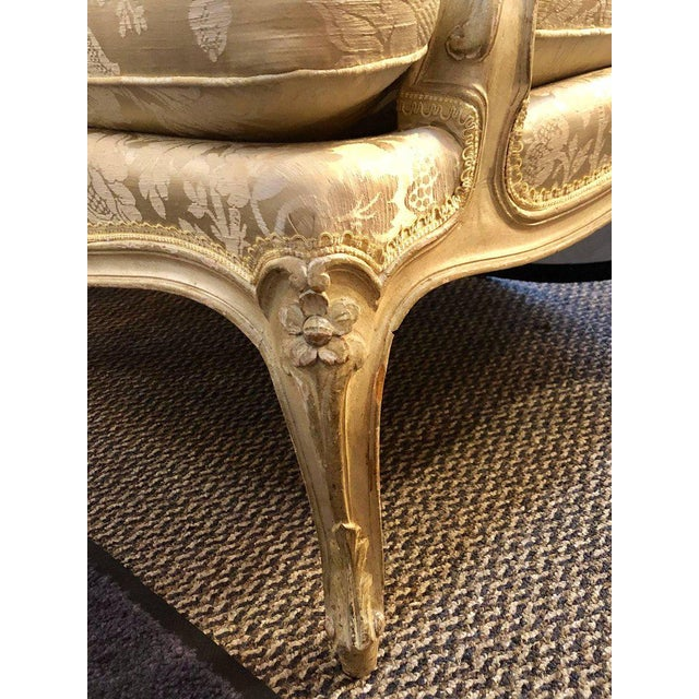 Maison Jansen Louis XV Style Lounge Chairs by Maison Jansen - a Pair For Sale - Image 4 of 11