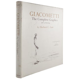 Alberto Giacometti: The Complete Graphics and 15 Drawings, Book For Sale