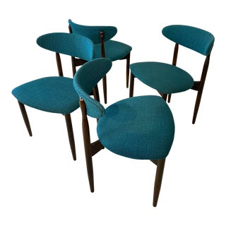 Vintage MCM Kodawood Dining Chairs - Set of 4 For Sale