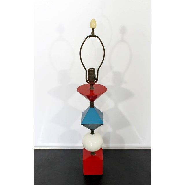 Lightolier 1960s Mid Century Modern Gerald Thurston Lightolier Lamp For Sale - Image 4 of 12