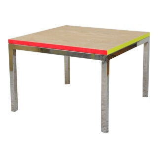 Contemporary Refurbished 1960s Side Table