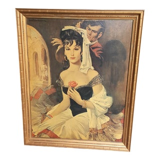 Flamenco Beauty Large Enhanced Print