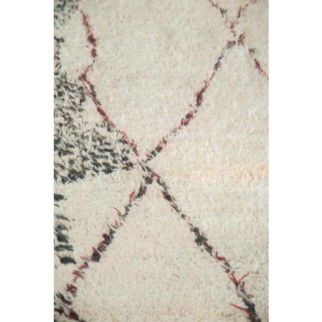 "Vintage Moroccan Carpet - 5'6"" X 8'3"" - Image 5 of 10"