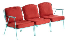 Image of Red Outdoor Chairs