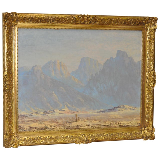 Thomas L. Lewis Taos New Mexico Landscape Painting - Image 1 of 6