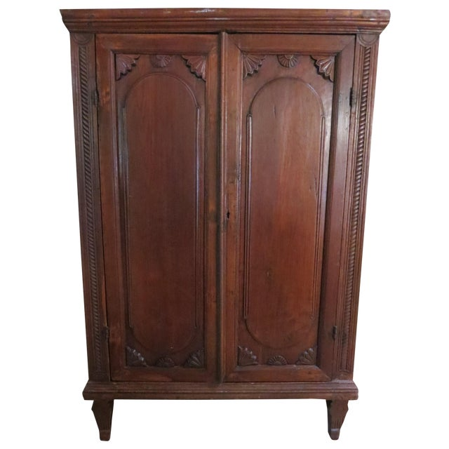 Dutch Colonial Style Armoire For Sale