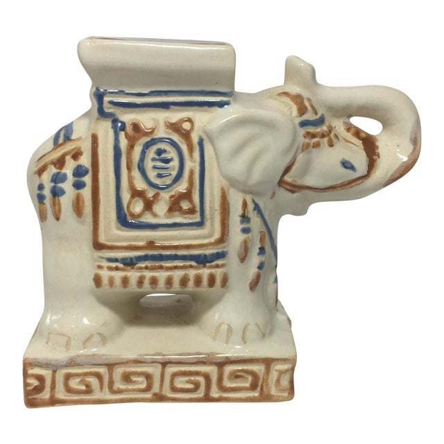 Mini Elephant Garden Stool - Image 1 of 8