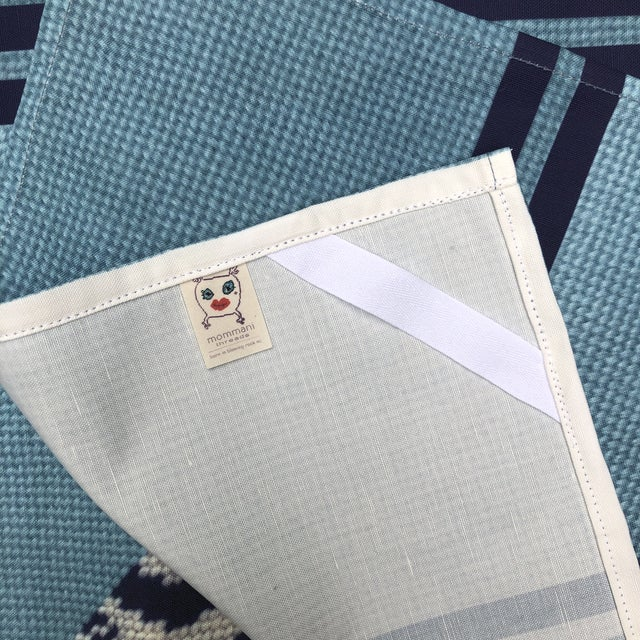 Baby Blue Custom Made Staffordshire Blue Linen Cotton Tea Towels - a Pair For Sale - Image 8 of 10