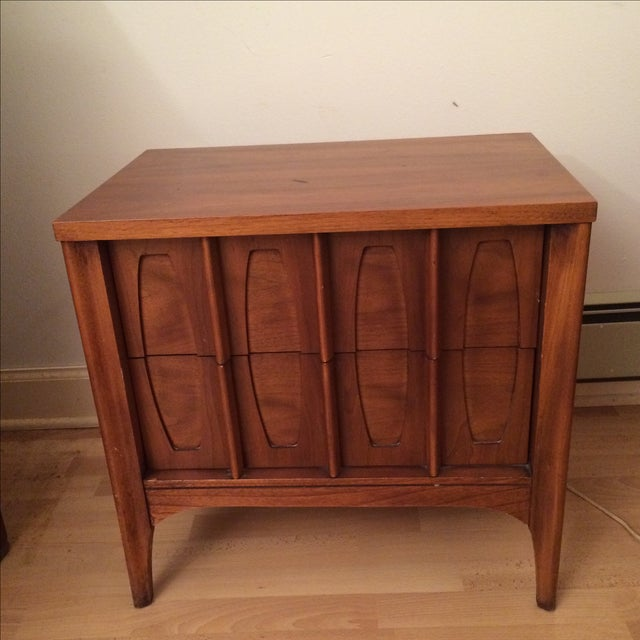 Kent Coffee Townhouse Mid-Century Nightstand - Image 2 of 3