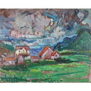 Gerald Wasserman Carmel Landscape
