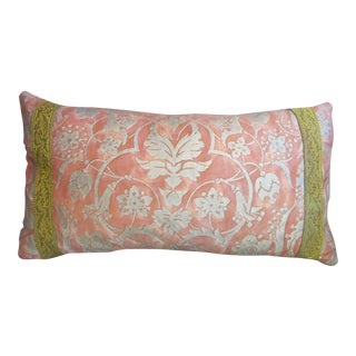 Fortuny Embellished Pillow For Sale