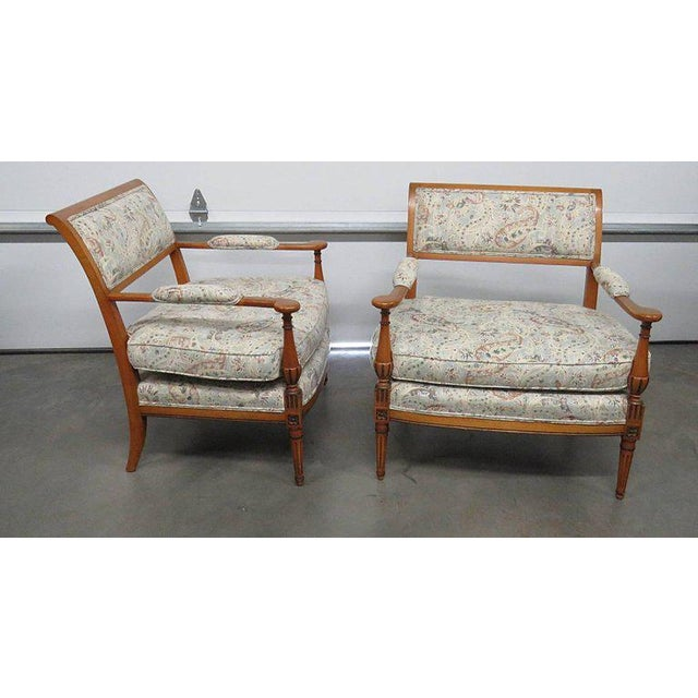 Louis XVI Louis XVI Style Marquis- A Pair For Sale - Image 3 of 6