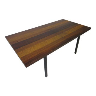 Milo Baughman for Directional Plank Dining Table For Sale