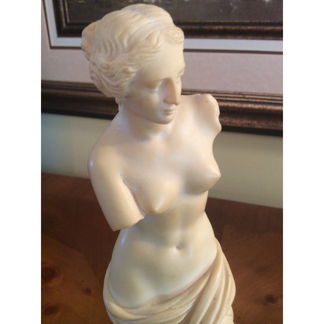 Vintage Arnoldo Giannelli Venus Recomposed Stone Sculpture For Sale In Columbus - Image 6 of 12