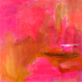 """""""Sonoran Sunset"""" by Trixie Pitts XL Abstract Expressionist Oil Painting"""