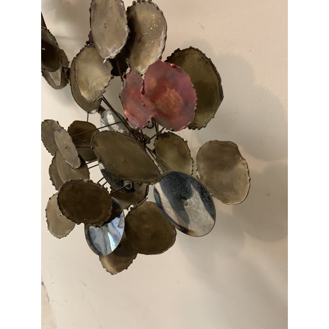 """Vintage 1979 """"Raindrops"""" Sculpture in the Manner of Curtis Jere For Sale - Image 11 of 13"""