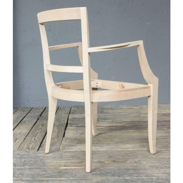 Chair Frame for a Reproduction 1940s Style Armchair For Sale - Image 4 of 7