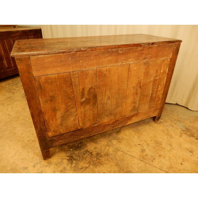 Wood 18th Century French Provincial Walnut Buffet For Sale - Image 7 of 8