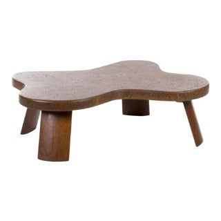 Paul Frankl Cork Coffee Table For Sale