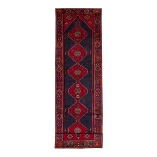"""HAMADAN Vintage Persian Rug, 3'9"""" x 14'6"""" feet"""