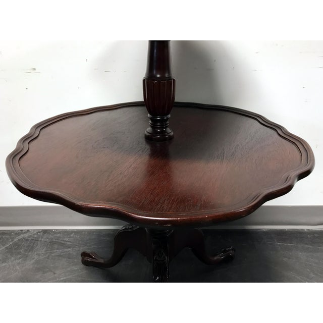 Vintage Mersman 3-Tier Mahogany Table - Image 7 of 10