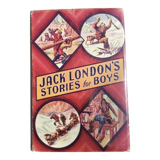 "1930's ""Jack London's Stories for Boys"" Book"
