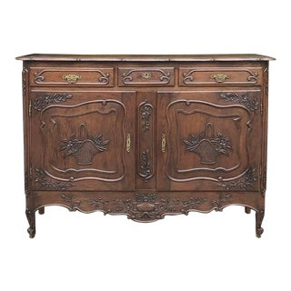Antique Country French Buffet For Sale