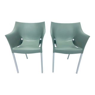 "Philipp Stark ""Dr. No"" Chairs for Kartell- A Pair For Sale"
