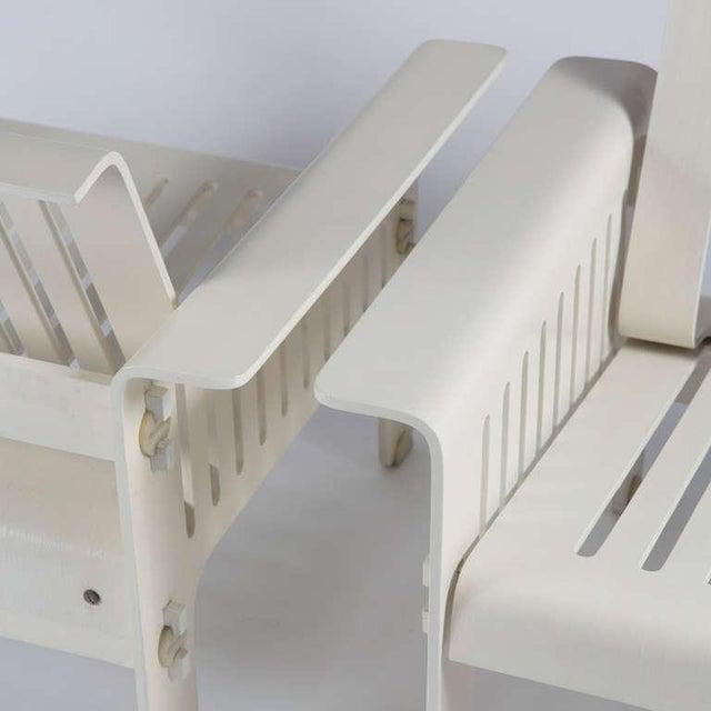 """Rossi di Albizzate Impressive """"Triennale"""" Armchairs by Ammannati and Vitelli for Rossi di Albizzate For Sale - Image 4 of 10"""