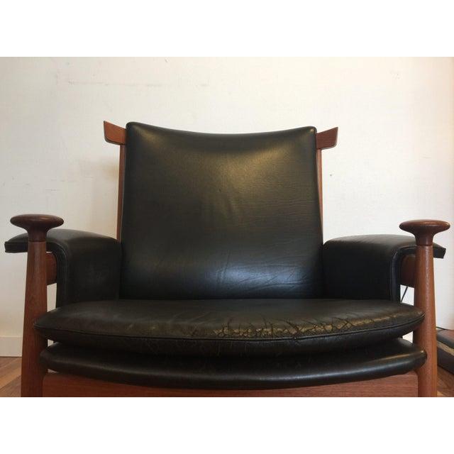 finn juhl bwana chair ottoman chairish