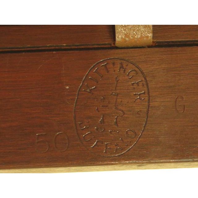 Kittinger Chippendale Mahogany Butler Coffee Table - Image 10 of 11