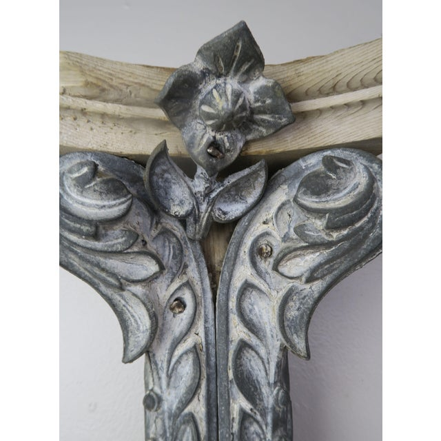 1940s Pair of French Painted Corbels, Circa 1940s For Sale - Image 5 of 13
