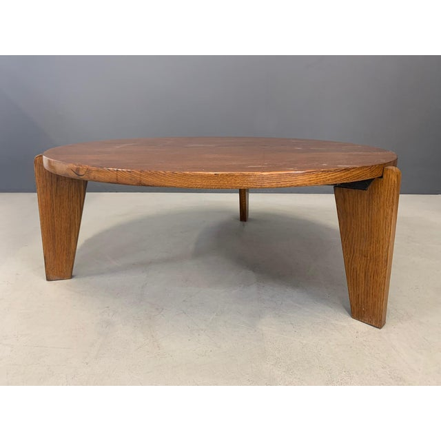 1950s 1950s Jean Prouvè Mid Century Coffee Table Series Africa For Sale - Image 5 of 9