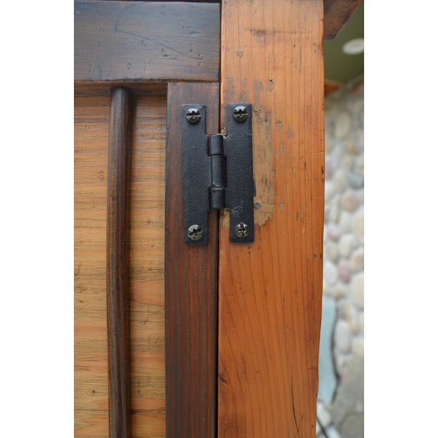 Antique Japanese Kimono Tansu Armoire For Sale In Los Angeles - Image 6 of 10