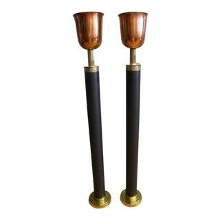 Vintage Art Deco Torcheres - A Pair