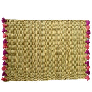 Lola Placemat With Tassel, Set of 2 Baja For Sale