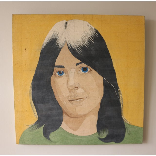 Portrait of a Woman in the Style of Alex Katz - Image 2 of 7