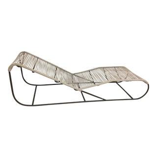 Kipp Stewart Tubular Bronze Chaise Lounge Chair