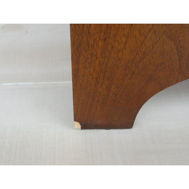 20th Century Traditional Baker Furniture Mahogany Nightstand For Sale - Image 12 of 13