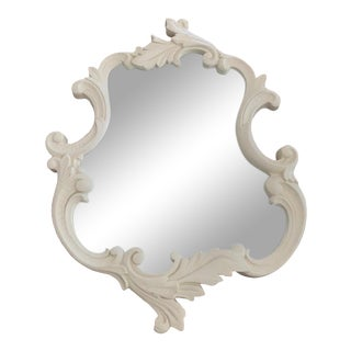 Custom Decorative Plaster Mirror For Sale