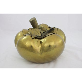 Italian Pewter Pumpkin Box Preview