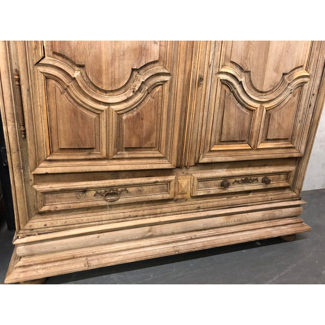 French Louis XIV Dome Top Armoire For Sale - Image 4 of 13