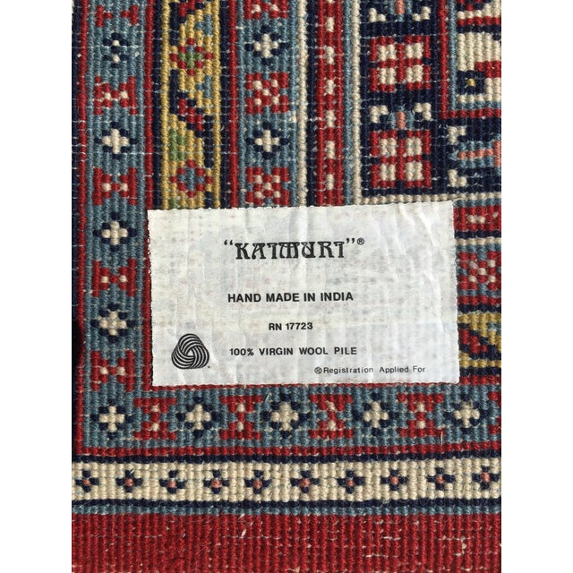 1990s Handknotted Mir Area Rug- 8′7″ × 11′11″ For Sale - Image 10 of 13