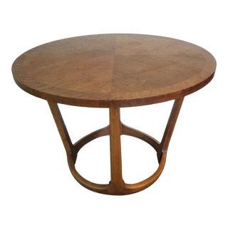 MCM Lane Circular Side Table For Sale